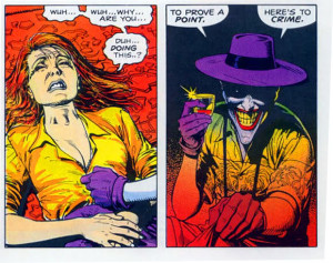 Quote that most Symbolises the Joker (one liner)