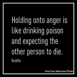 ... like drinking poison and expecting the other person to die. – Buddha
