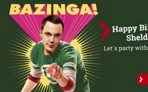 Sheldon Cooper Birthday