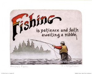 Fishing-Angler's Faith ~ Fine-Art Print
