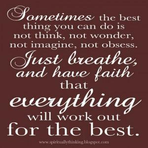 Always have faith and hope:)