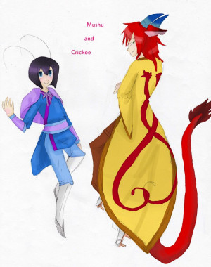 Mulan And Mushu Crimsonartz