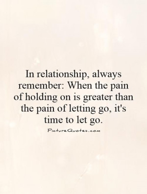 hard time letting go of relationship quotes