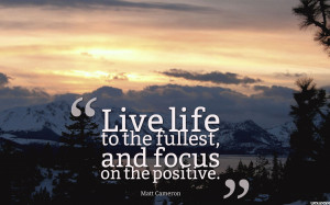 Focus On The Positive Quotes wallpaper 1920x1080