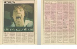 Re: Review: It's only rock n roll; 1974 Jon Landau