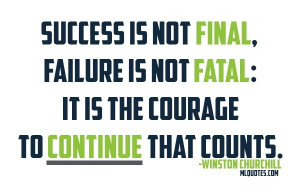 Winston Churchill Picture Quote