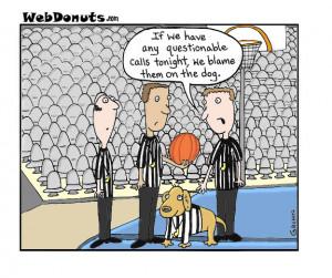 Referee Cartoon