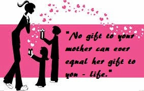 Mothers Day quotes from son and daughter to mother and grandmother.