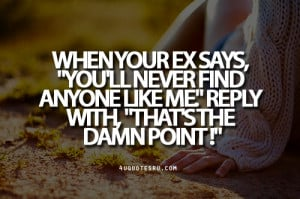 Your Ex Moving On Quotes