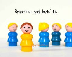 Brunette Funny Quote Photograph Print No FORTYNINE by HappyTownUSA, $6 ...