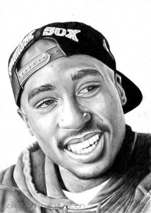 Tupac Shakur Tumblr Tupac shakur drawing by