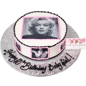 ... Shop / Cakes / Birthday Cakes / (2001) Marilyn Monroe Birthday Cake