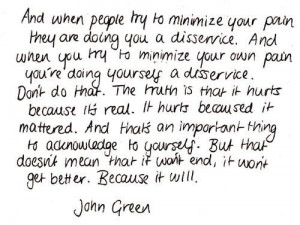Book Quotes Tumblr John Green large jpg