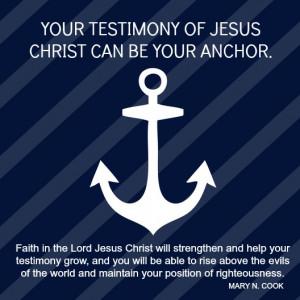 FAITH IN JESUS CHRIST QUOTE