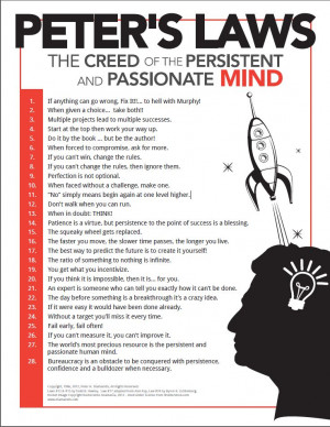 Peter Diamandis' Laws: The Creed of the Persistent and Passionate ...