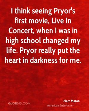 Marc Maron Life Quotes