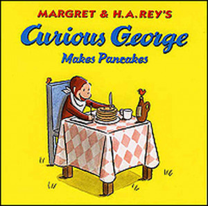 Curious George Book Illustrations Cover of 'curious george makes