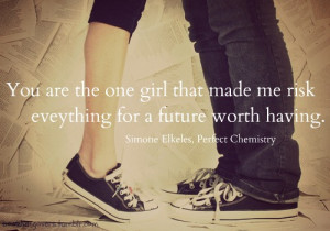 Perfect Chemistry Quotes