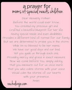 Prayer for Special Needs Moms & Whimsical Wednesday Blogger Linkup ...