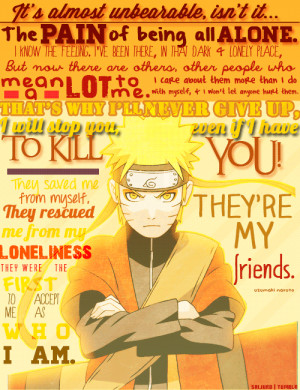 Naruto quotes sad wallpapers