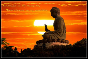 Kindness Is My Religion, Mindfulness Is My Practice. ~ Buddhist Quotes