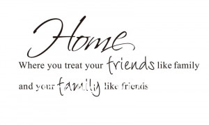 quotes about friends and family being there