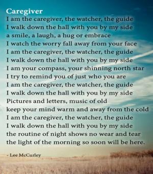 Caregiver-Poem
