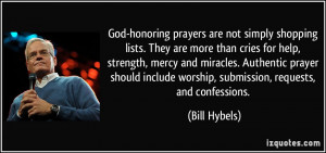 God-honoring prayers are not simply shopping lists. They are more than ...
