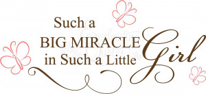 miracle girl nursery wall quote item miracle14 $ 20 95 size 10in x22 $