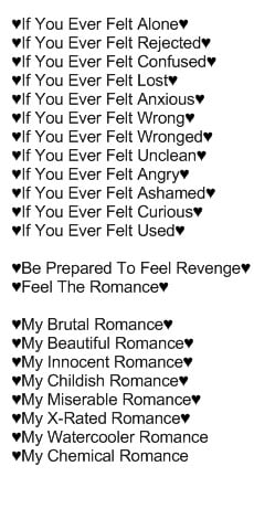 couple mcr quotes hrefhttp www glitter-works org targetblankglitter ...