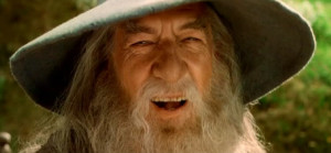 Gandalf Quotes A Wizard Is Never Late To see you, gandalf!