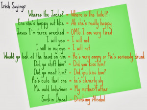 About Family Irish Proverbs