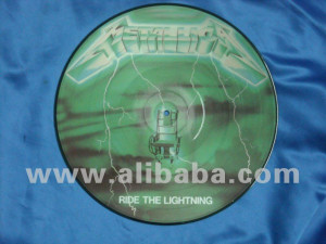 Picture disc Metallica Ride the lightning - Green -