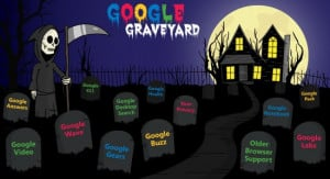 ... Graveyard he quotes Google regarding one of their product