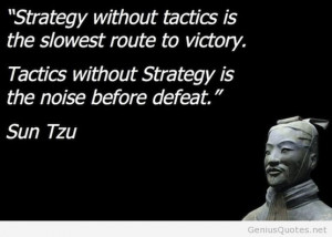 Ten quotes from Sun Tzu