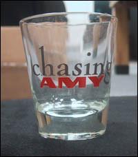Chasing Amy Shot Glasses $6.00