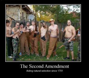 Rednecks Shooting Guns