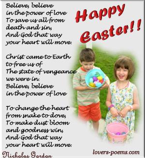 EasterPoems