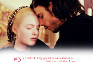 Top 5 L&C moments in Season 1 - cesare-and-lucrezia Photo