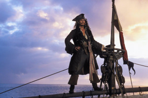 Pirates of the Caribbean Jack Sparrow wallpaper