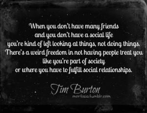 Quote - tim-burton Fan Art