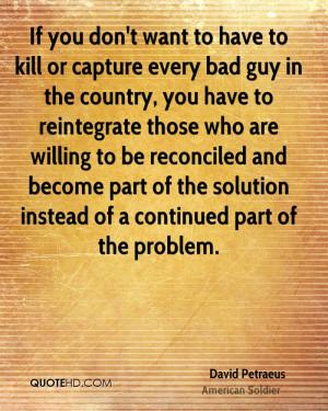 David Petraeus Quotes