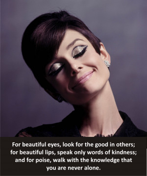 Beautiful Audrey Hepburn Quotes