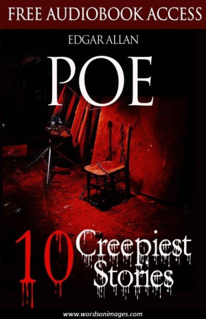 Edgar allan poe famous quotes