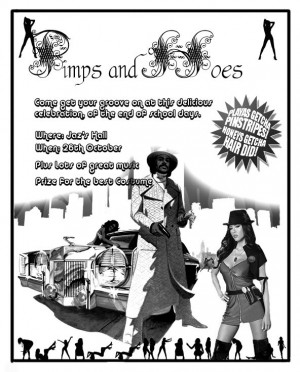 Pimps And Hoes Flyer Picture