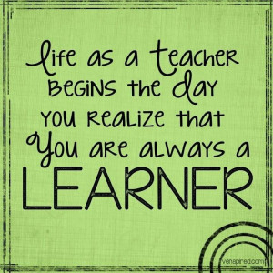 teachers are also the best learners # quotes