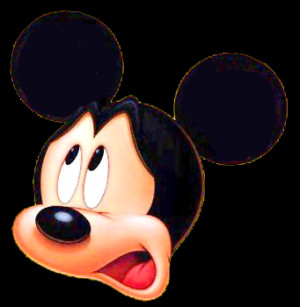 mickey mouth