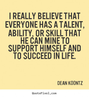 Quotes About Talent and Skills