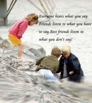 cherish your friends :)