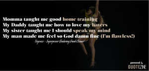 beyonce quotes from songs